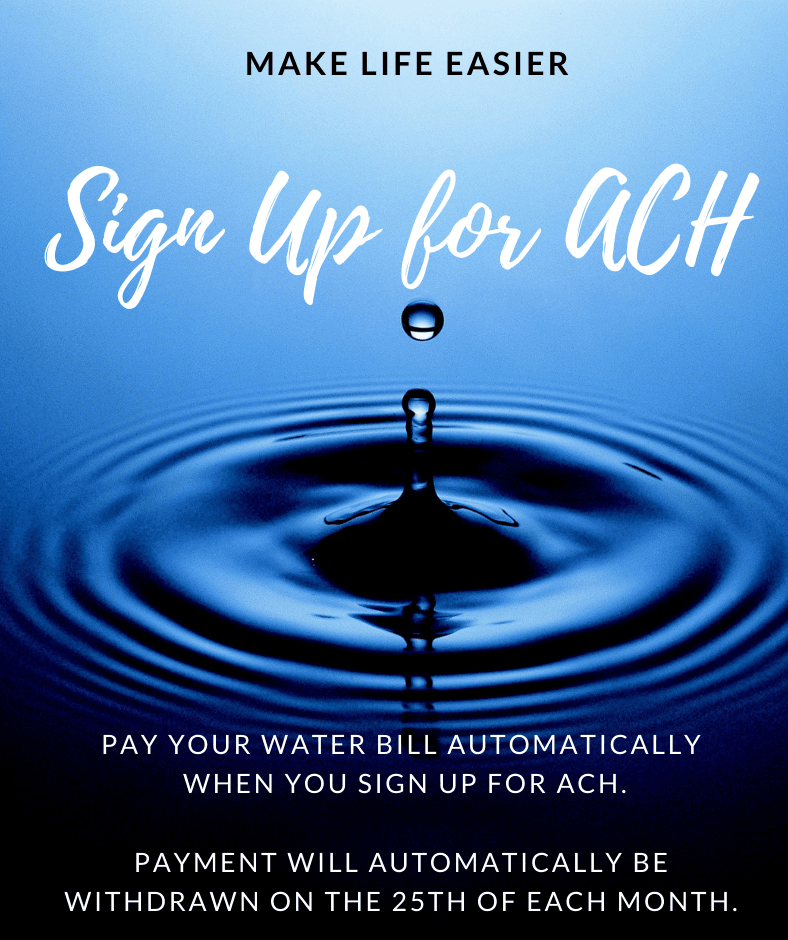 Make Life Easier - Sign Up for ACH