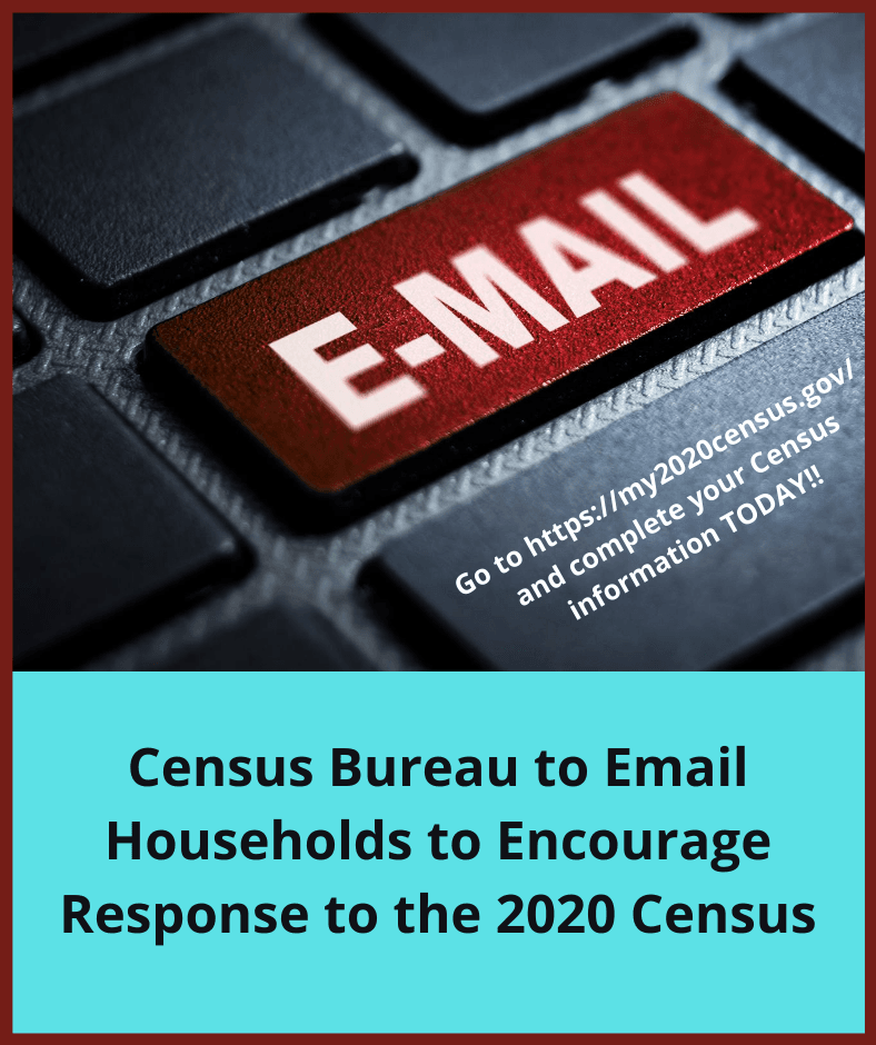 Website - Census emailing campaign